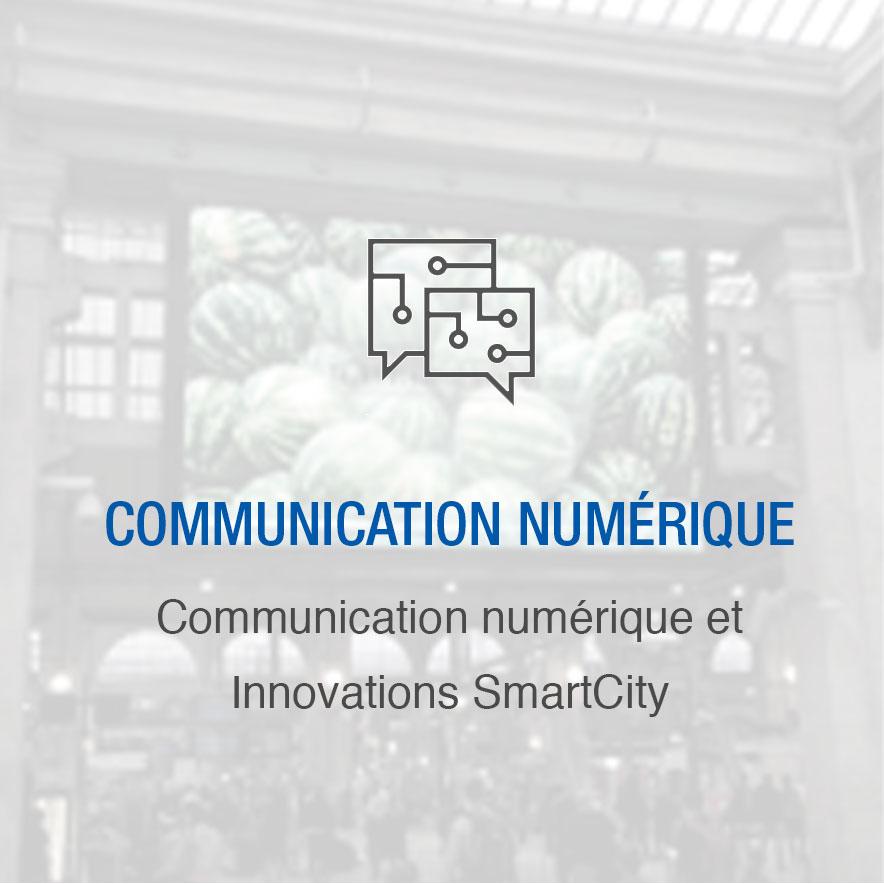 Communication numérique et innovations SmartCity