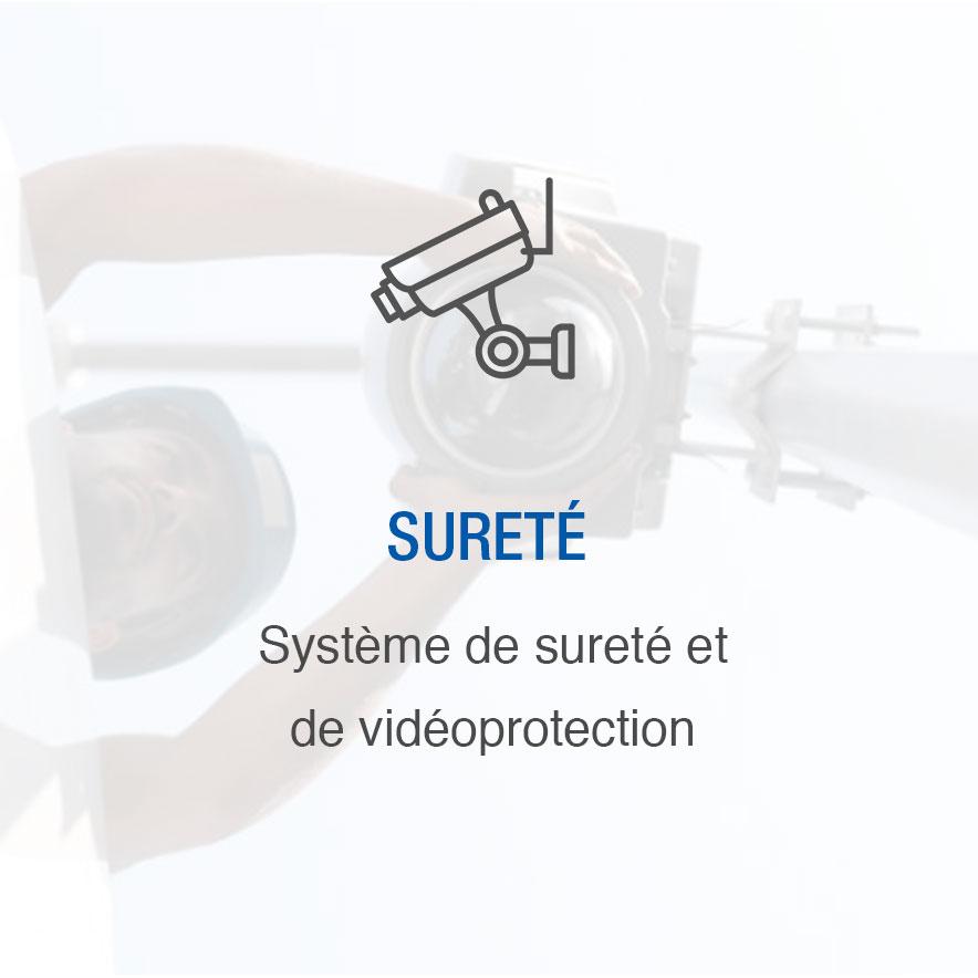 Sûreté : système de sureté et vidéoprotection