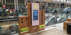 Information voyageurs Ecran Tactile