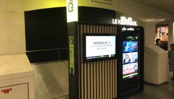 Kiosque numérique serviciel RATP