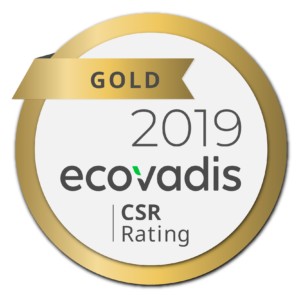 Médaille Ecovadis 2019