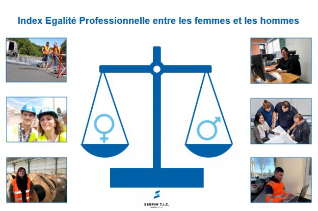 Index Egalité Professionnelle SERFIM T.I.C.