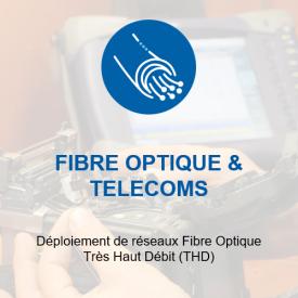 fibre optique et telecoms$